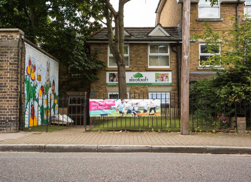 Beechcroft Day Nursery Entrance
